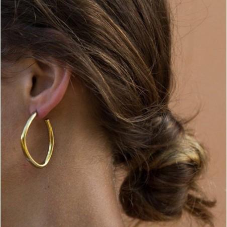 Kolczyki złote przy uchu K1074Z