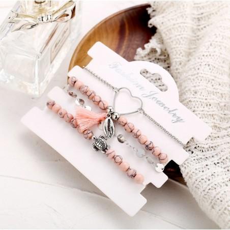 Armband 4in1 Flamingo B347
