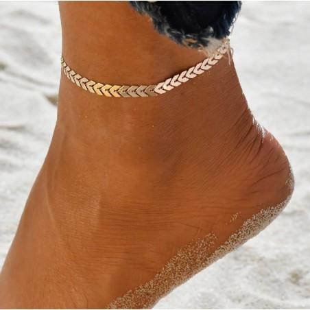B358 Angelschnur Bein Armband
