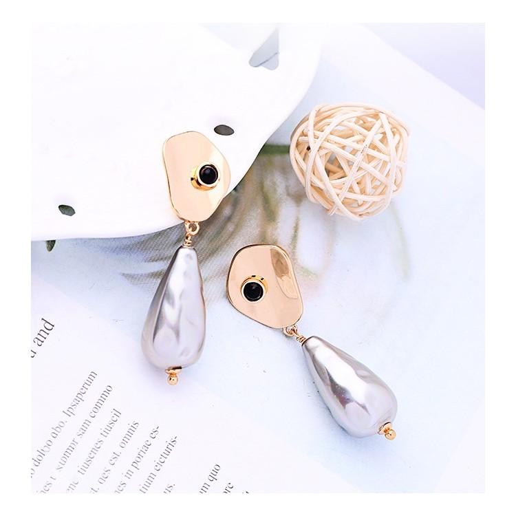 KOLCZYKI złota perła wysoka jakość K1144