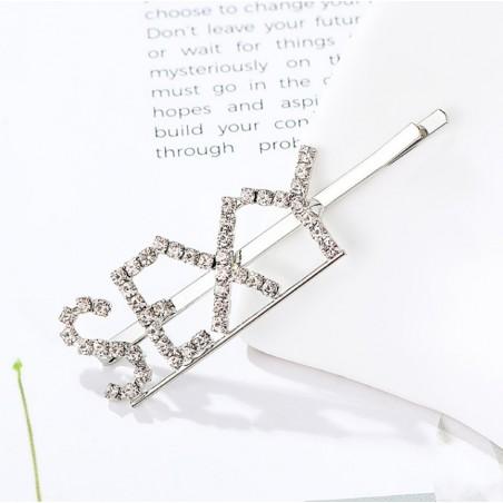 Wsuwka do włosów napis kryształ SEXY SP85S