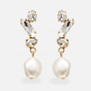 Kolczyki wiszące perły...