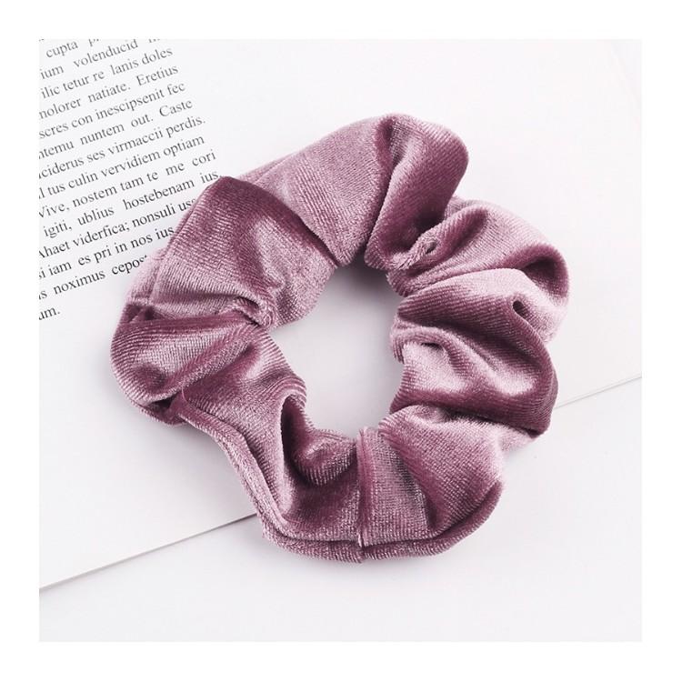 Gumka do włosów frotka ciemny róż GUM2CR