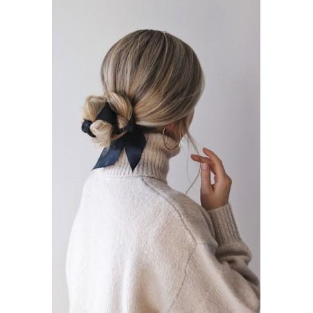 Gumka do włosów apaszka róż prążki PIN UP GUM10R