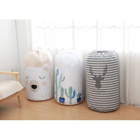 Pojemnik na zabawki lub pranie, kosz, worek mis OR20R