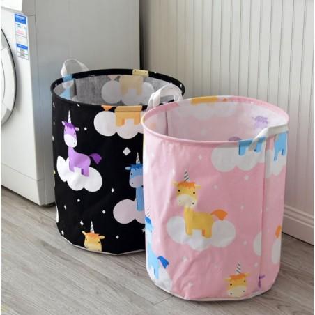 Pojemnik na zabawki kosz, worek na pranie sky unicorn OR2WZ87