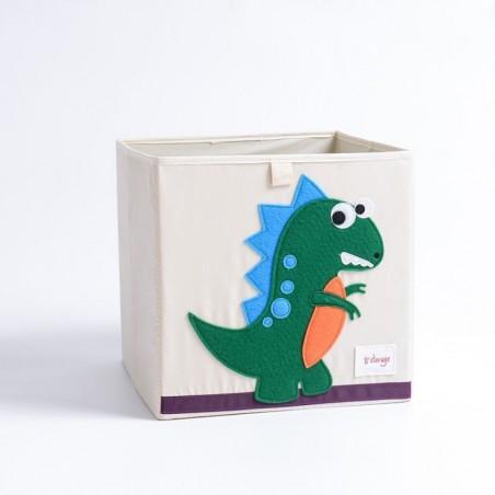 Pojemnik na zabawki sztywny, filc, dino OR4WZ7