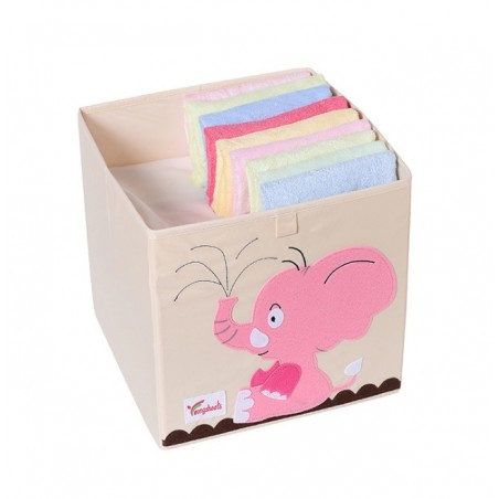 Pojemnik na zabawki sztywny, filc, słoń OR4WZ13