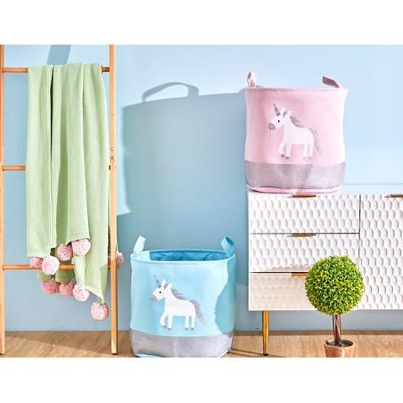 Pojemnik na zabawki kosz, worek na pranie unicorn OR23R