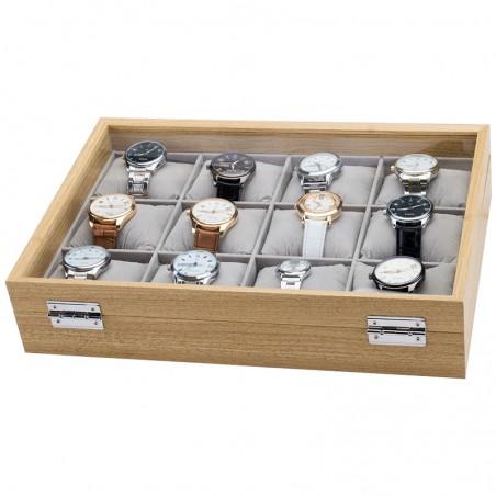 Szkatułka na 12 zegarków PDMDF09