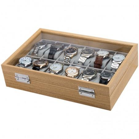 Szkatułka na 12 zegarków PDMDF06