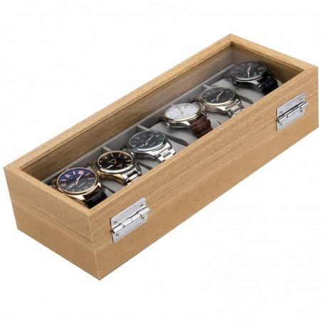 Szkatułka na 6 zegarków PDMDF04