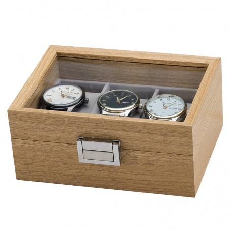 Szkatułka na 3 zegarki PDMDF03
