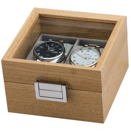 Szkatułka na dwa zegarki PDMDF02