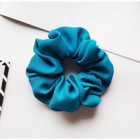 Gumka do włosów frotka turkus materiał GUM14TUR
