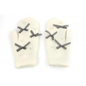 Rękawiczki cute kokardki i...