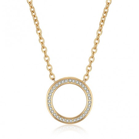 Halskette aus 14-karätigem Goldstahl NST901Z