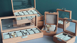 Jewelery and watch boxes